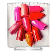 The Makeup Breakup Shower Curtain