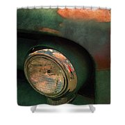 The Man At The Car Show Shower Curtain