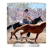 The Man From Snowy River Shower Curtain