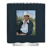 The Man From The Valley Shower Curtain