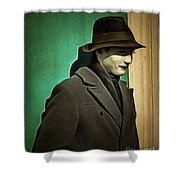 The Man In The Hat Shower Curtain