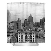 The Manhattan Skyline Shower Curtain