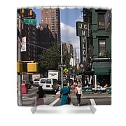 The Manhattan Sophisticate Shower Curtain