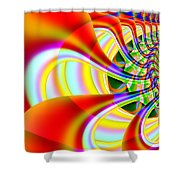 The Marching Band . Square . S14 Shower Curtain
