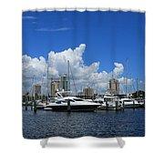 The Marina Shower Curtain
