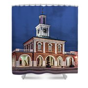 The Market House Shower Curtain