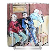 The Market Parliament Shower Curtain