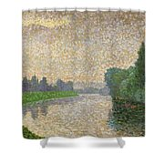 The Marne At Dawn Shower Curtain
