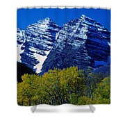 The Maroon Bells Aspen Colorado Shower Curtain