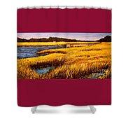 The Marsh At Cherry Grove Myrtle Beach South Carolina Shower Curtain