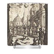 The Martyrdom Of Saint James Major Shower Curtain