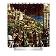 The Martyrdom Of St Jacques Shower Curtain