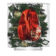 The Mask Of Tutankhamun Shower Curtain