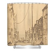 The Mast Shower Curtain