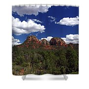 The Masters Canvas Shower Curtain