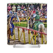 The Match Shower Curtain