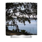 The May River In Bluffton Shower Curtain
