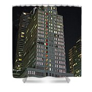 The Mcgraw Hill Building Shower Curtain