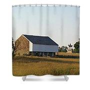 The Mcpherson Barn Shower Curtain