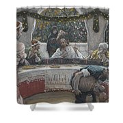The Meal In The House Of The Pharisee Shower Curtain
