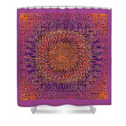The Meditation Of Souls Shower Curtain