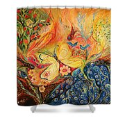 The Mediterranean Spring Shower Curtain
