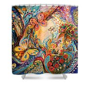 The Melancholy For Chagall Shower Curtain