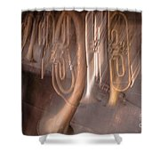 The Melody Of The Past Shower Curtain