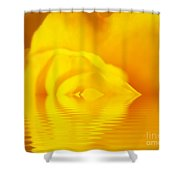 The Melting Rose Shower Curtain