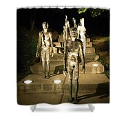 The Memorial To The Victims Of Communism Shower Curtain