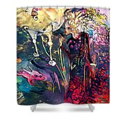The Menagerie Shower Curtain