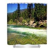 The Merced River In Yosemite Shower Curtain