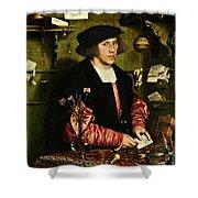 The Merchant Georg Gisze 1532 Shower Curtain