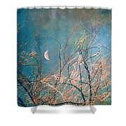The Messy House Of The Moon Shower Curtain