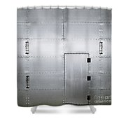 The Metal Door Shower Curtain