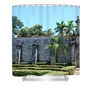 The Miami Monastery Shower Curtain