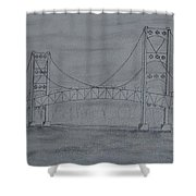 The Mighty Mac Shower Curtain