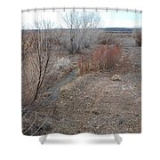 The Mighty Santa Fe River Shower Curtain