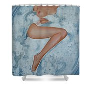 The Milk Bath Shower Curtain