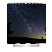 The Milky Way 1 Shower Curtain by Jim Thompson