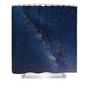 The Milky Way 2 Shower Curtain