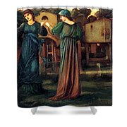 The Mill 1882 Shower Curtain