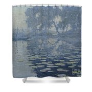 The Mill Pond Shower Curtain