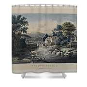 The Mill-stream Shower Curtain