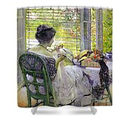 The Milliner Shower Curtain