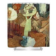 The Millinery Shop Shower Curtain