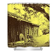 The Millwrights Shed Shower Curtain