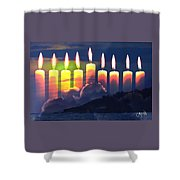The Miracle Of Lights Shower Curtain