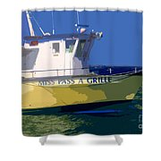 The Miss Pass A Grille Shower Curtain