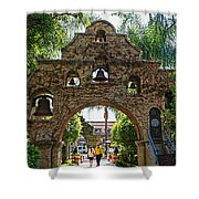 The Mission Inn Entrance Shower Curtain